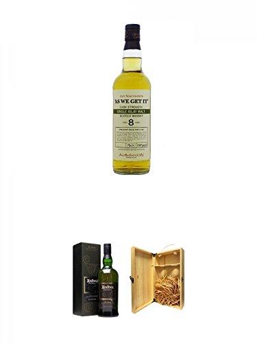 As we get it Islay 8 Jahre Whisky 0,7 Liter + Ardbeg Corryvreckan Islay Single Malt Whisky 0,7 Liter...