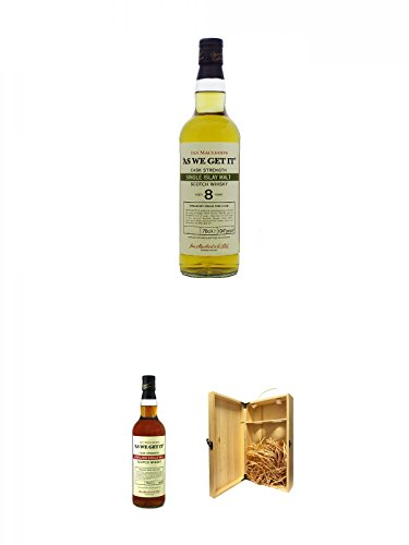 As we get it Islay 8 Jahre Whisky 0,7 Liter + As we get it Highland Islay Single Malt Whisky 0,7...