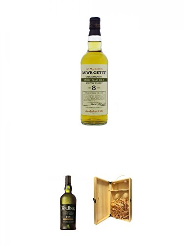 As we get it Islay 8 Jahre Whisky 0,7 Liter + Ardbeg TEN 10 Jahre Islay Single Malt Whisky 0,7 Liter...