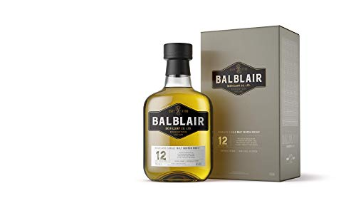 Balblair 12 Years Old Highland Single Malt Scotch Whisky (1 x 0.7 l)