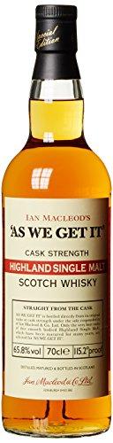 As We Get It Ian Macleod Highland Single Malt Whisky (1 x 0.7 l)
