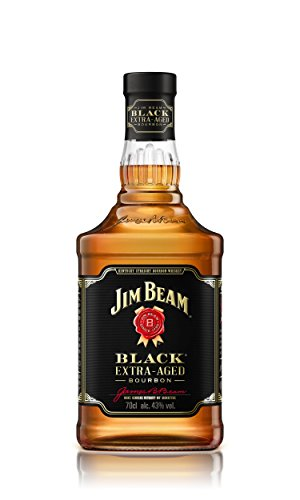 Jim Beam Black Label Kentucky Straight Bourbon Whiskey (1 x 0.7 l)