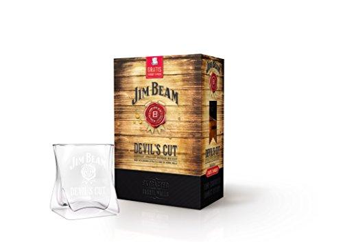 Jim Beam Devils Cut Bourbon Whiskey Geschenkkarton incl. Tumbler