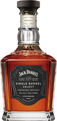Jack Daniel's Single Barrel Select - Tennessee Whiskey - 45% Vol. (1 x 0.7 l) / Jedes Fass ein...