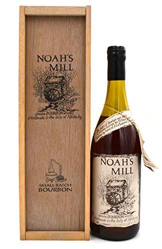 Rarität: Noah's Mill 15 Jahre Bourbon Whiskey 0,7l inkl. Holzkiste