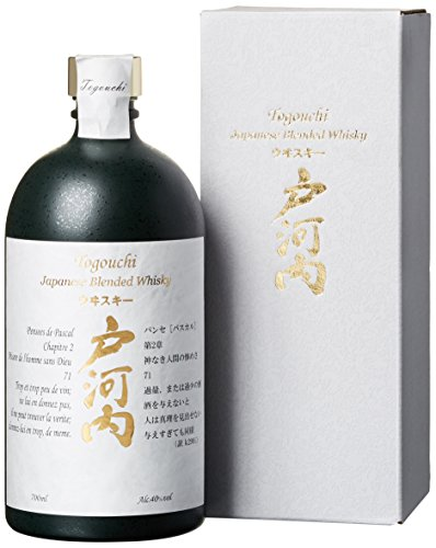 Togouchi Japanese Blended Whisky mit Geschenkverpackung  Whisky (1 x 0.7 l)
