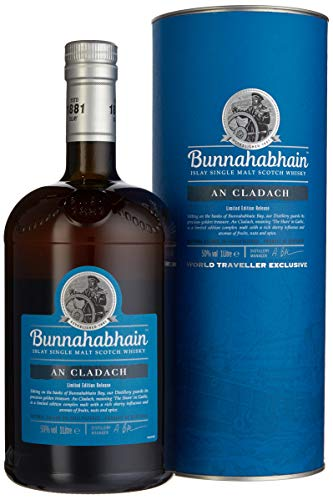 Bunnahabhain AN CLADACH Limited Edition Release mit Geschenkverpackung Whisky (1 x 1 l)