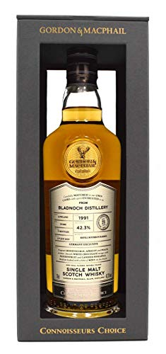 Rarität: Bladnoch Whisky 1991/2019 Gordon&MacPhail 0,7l Connoisseurs Choice
