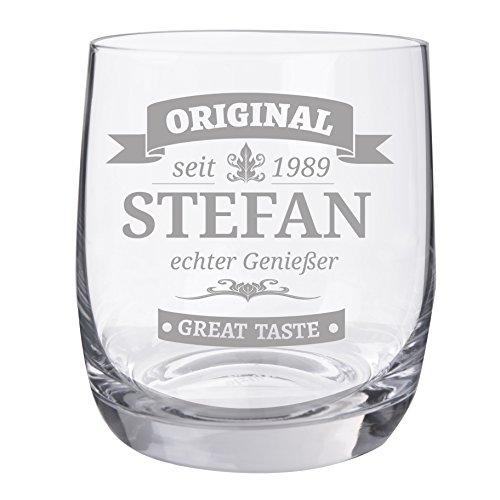 Personello® Whiskyglas mit Gravur, Motiv Original, Name/Jahr/Text personalisiert, graviertes...