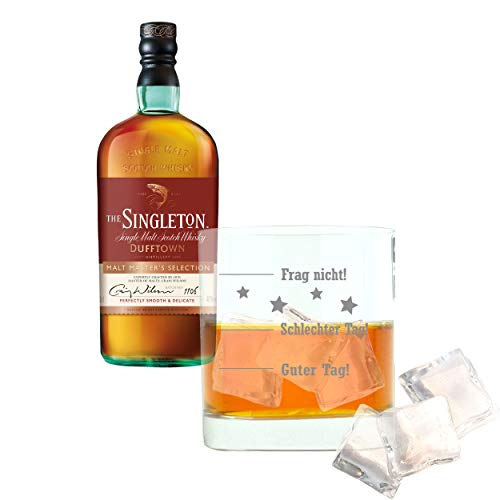 Whiskey 2er Set, Singleton Of Dufftown Malt Master, Whisky, Scotch, Alkohol, Alkoholgetränk,...