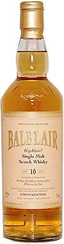 Balblair 10 Jahre Single Malt Whisky Gordon & MacPhail 0,7 Liter