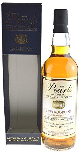 Rarität: Invergordon Whisky Jahrgang 1972, 41 Jahre The Pearls 0,7l inkl. Geschenkpackung