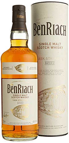 The BenRiach Cask Strength Batch No. 2 mit Geschenkverpackung Whisky (1 x 0.7 l)