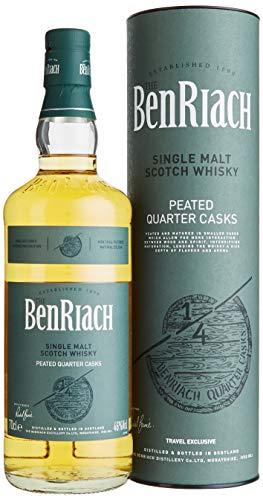 Benriach Peated Quarter Casks mit Geschenkverpackung Whisky (1 x 0.7 l)