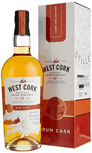 West Cork 12 Years Old Irish Whiskey Rum Cask Finish Limited Release (1 x 0.7 l)