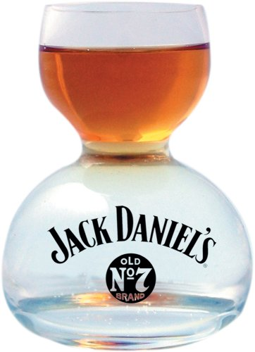 Jack Daniel's Whiskey On Water Glas
