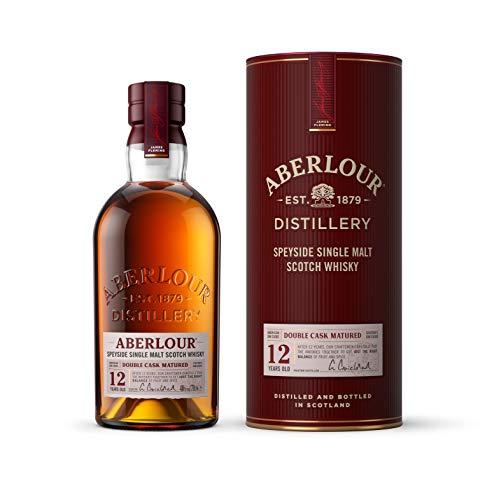 Aberlour 12 Jahre Highland Single Malt Scotch Whisky – Schottischer Double Cask Matured Scotch –...
