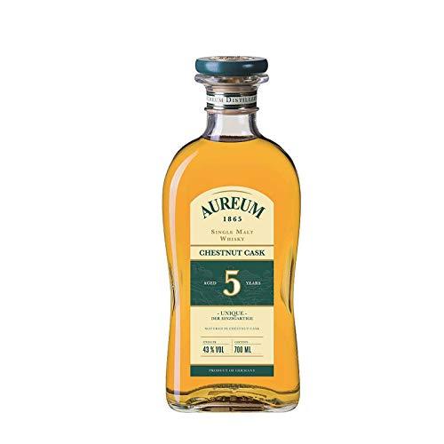 Aureum 1865 Single Malt Whisky, Chestnut Cask, Deutschland 0,7 l
