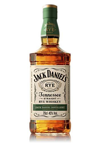 Jack Daniel's Tennessee Rye Whiskey, 45% Volume (1 x 0.7 l)