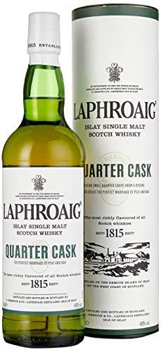 Laphroaig Quarter Cask Islay Single Malt Scotch Whisky, mit Geschenkverpackung, in Quarter Casks...