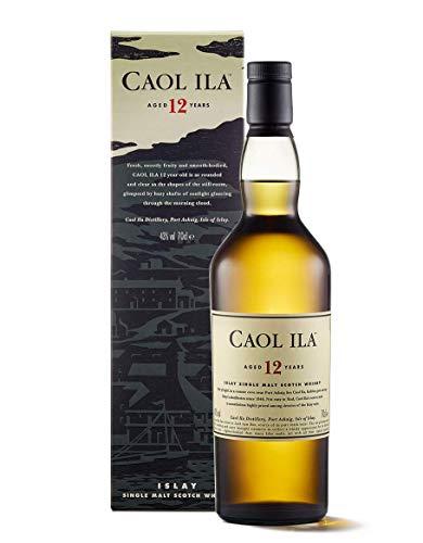 Caol Ila 12 Jahre Islay Single Malt Scotch Whisky – in Geschenkbox (1 x 0.7 l)