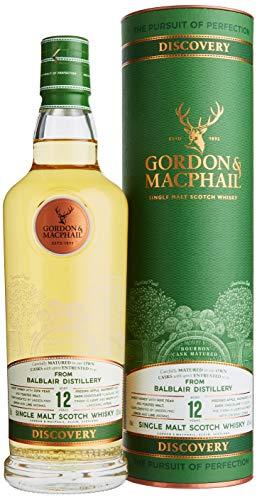 Gordon & MacPhail BALBLAIR 12 Years Old DISCOVERY Single Malt Scotch Whisky mit Geschenkverpackung...