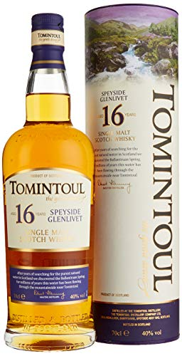 Tomintoul 16 Years Old mit Geschenkverpackung  Whisky (1 x 0.7 l)