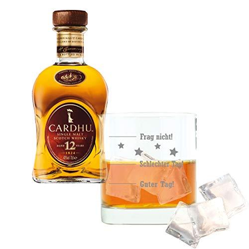 Whiskey 2er Set, Cardhu 12 Years / Jahre, Single Malt, Whisky, Scotch, Alkohol, Alokoholgetränk,...