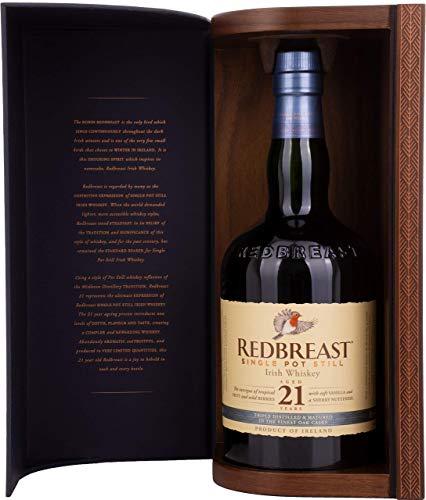 Irischer Whiskey Redbreast 21 Jahre Single Pot Still (1 x 0.7 l)
