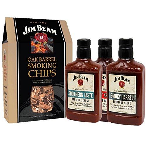 Jim Beam Whisky Flavour Chips & Saucen Set
