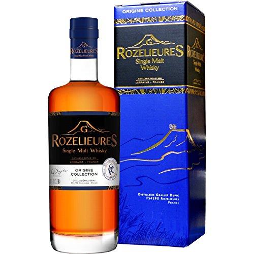 Rozelieures Origine Collection 0,7 l Single Malt Whisky aus Frankreich
