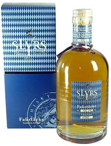 Rarität: Slyrs Faßstärke Whisky 0,7l mit 55,7% vol. - Jahrgang 2010 - Bavarian Single Malt Whisky