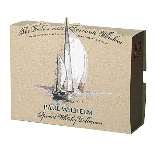 Herz & Heim® Peated Malts of Distinctions Whisky Probierpaket (4 x 0.05 l) in personalisierter...