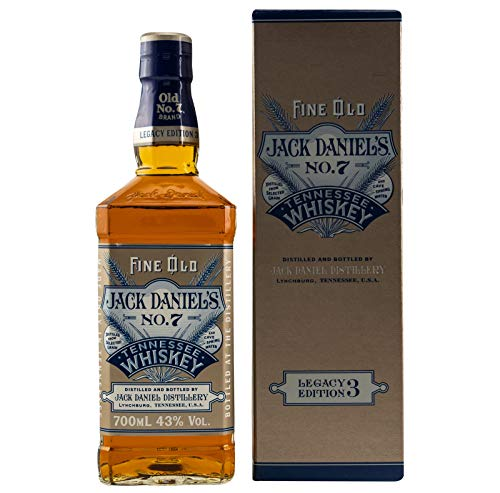 Jack Daniel's Legacy Edition 3 Bourbon Whiskey (1 x 0.7l)