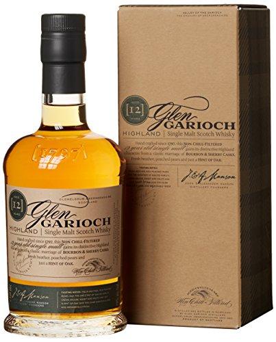Glen Garioch 12 Jahre Highland Single Malt Scotch Whisky, mit Geschenkverpackung, mit Finish in...