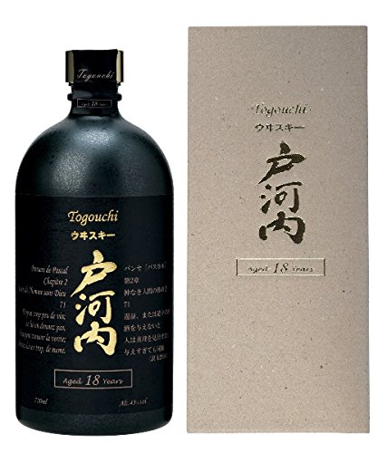 Togouchi 18 Years Japanese Blended Whisky 43,8% 0,7l Flasche