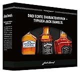 Jack Daniel's Old No. 7 Markenfamilien Geschenkset (Gentleman Jack,  Single Barrel) zur Verkostung -...