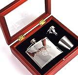 Jack Daniel's No. 7 Flachmann-Geschenk-Set, 120 ml