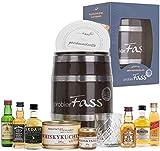 Geburtstagsgeschenk für Männer   6 beliebte Whisky Klassiker (6 x 0.05 l) - 1 Whiskyglas - 1...