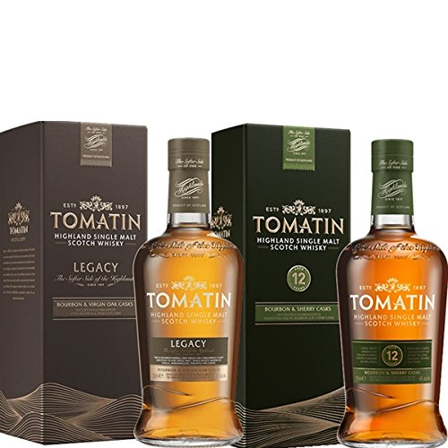 Tomatin Whisky Set 12 Jahre & Tomatin Legacy 2x 0,7 L