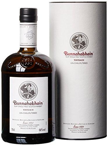 Bunnahabhain Toiteach Single Malt mit Geschenkverpackung  Whisky (1 x 0.7 l)
