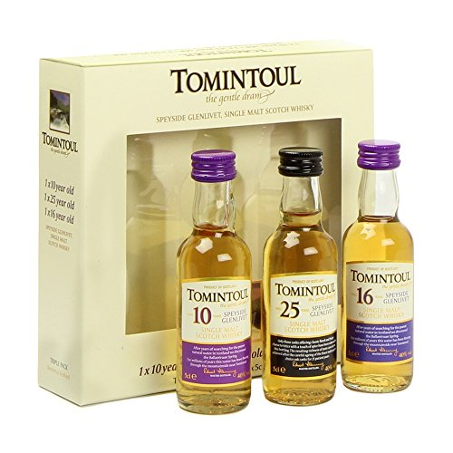 Tomintoul Minisortiment 3 x 0,05 l - Triple Pack