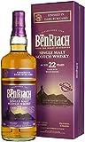 Benriach 22 Years Old Dark Rum Wood Finish mit Geschenkverpackung Whisky (1 x 0.7 l)
