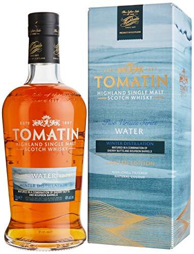 Tomatin WATER Winter Distillation Five Firtues Series Limited Edition mit Geschenkverpackung (1 x...