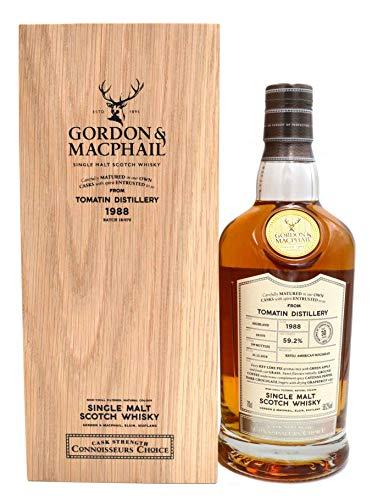 Rarität: Tomatin Whisky 1988/2018 Gordon&MacPhail 0,7l Connoisseurs Choice