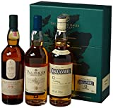 The Classic Malts Collection Pack Strong Single Malt Whisky Pack (3 x 0.2 l) mit Lagavulin 16,...