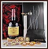 Geschenk Redbreast 12 Jahre irischer Whiskey + Flaschenportionierer + 10 Edel Schokoladen + 4 Whisky...