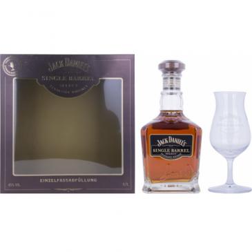Jack Daniel's Select Single Barrel mit Glas